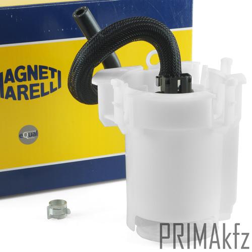 MAGNETI MARELLI KRAFTSTOFFPUMPE OPEL CORSA C 1.2 1.4 1.6 mit KRAFTSTOFFFILTER