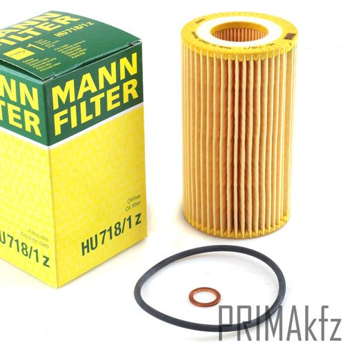 mann filter hu 718 1z lfilter bmw 3er e46 318d 320d 5er. Black Bedroom Furniture Sets. Home Design Ideas
