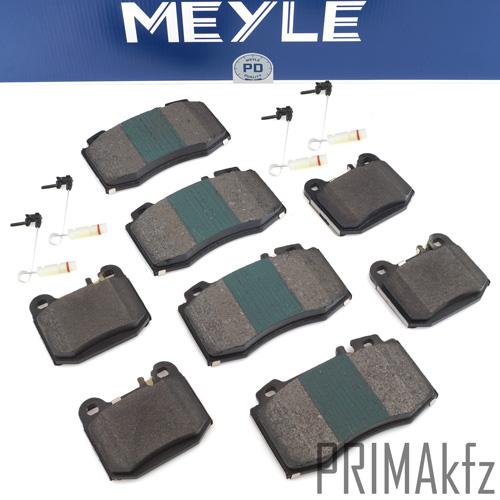 W163 ML 320 Bremsbeläge vorne /& hinten für MERCEDES-BENZ M-CLASS