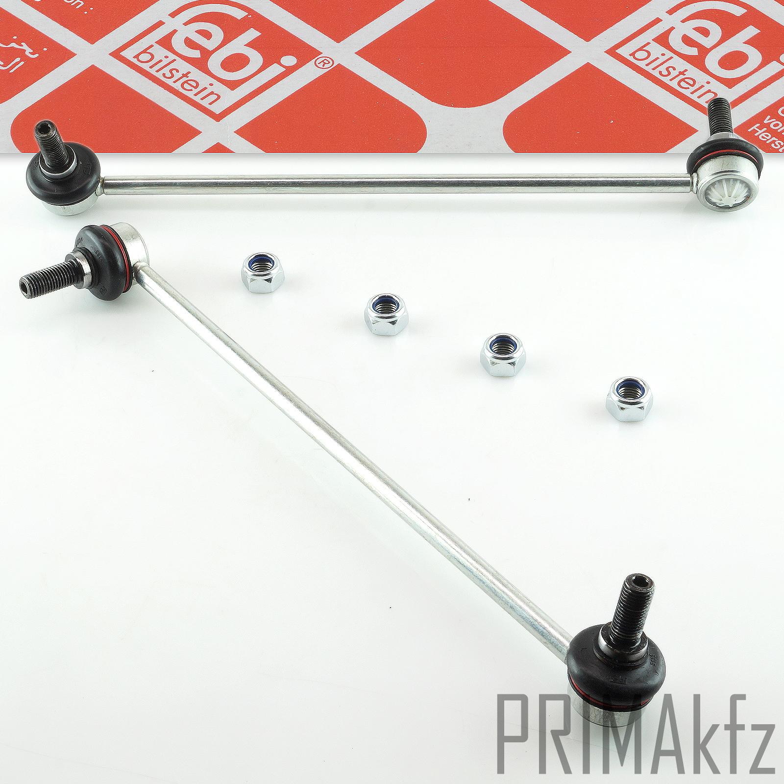 2x febi 24122 koppelstange stabilisator vorne vw golf v vi. Black Bedroom Furniture Sets. Home Design Ideas